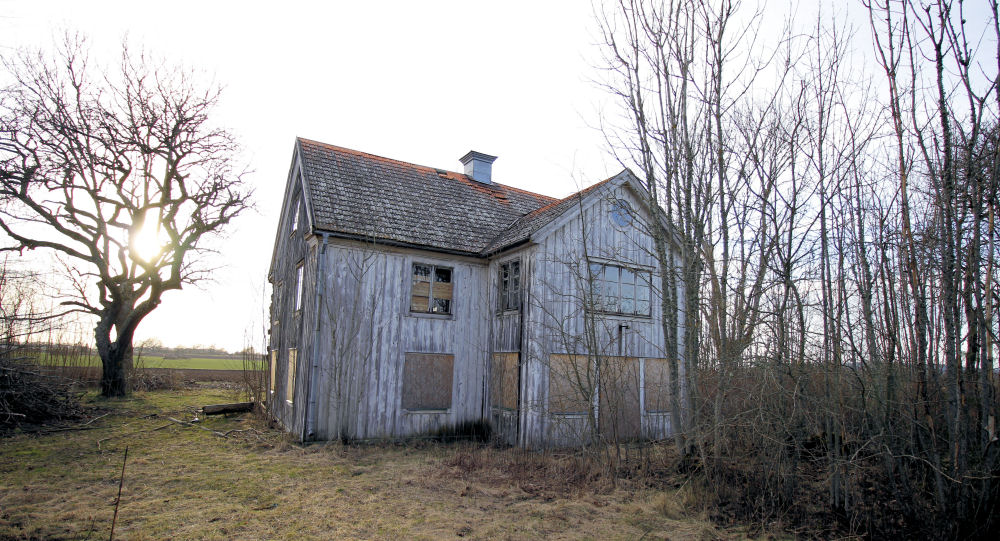 Ödehus i Häggestad