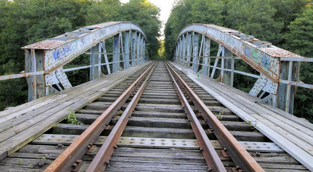 Järnvägsbro Mjölby
