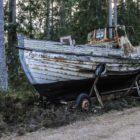 Båtar i skogen