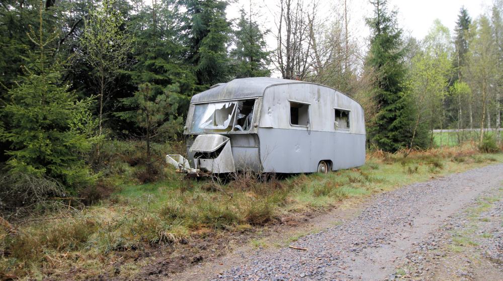 Husvagn riksväg 150