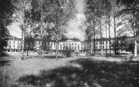 Hålahults sanatorium 1933