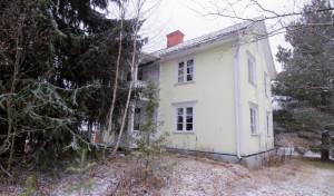Hus vid Stockholmsvägen