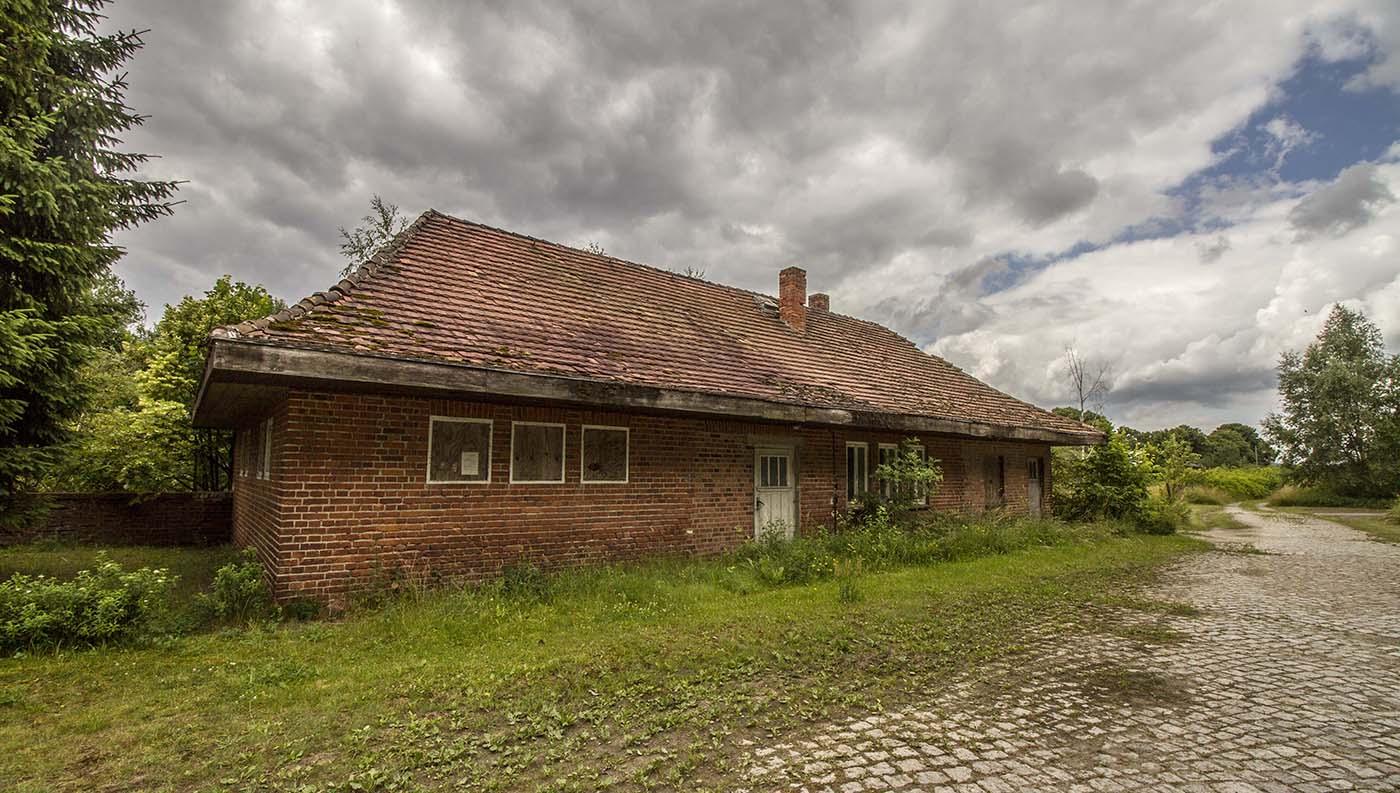 Järnvägsstationen i Warnow